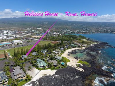 Photo for Beautiful home in Kona Bay Estates 50 yards from the Ocean!