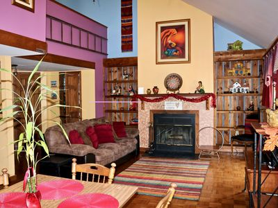 LOOKING FOR SPACE? ENJOY THIS COZY 3 BDRM/2.5 BTHRM GETAWAY WITH JACUZZI!