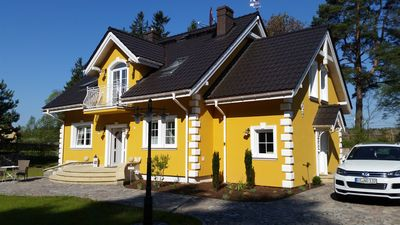 Photo for Small yellow villa in Mazury (OST Flat in the attic)