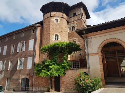 Photo for Old house for 7 people in the centre of Gaillac