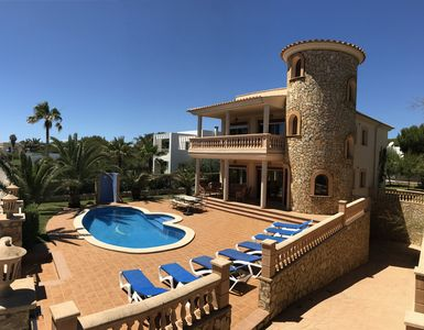 Photo for Luxury-Tower-Villa with outstanding view near marina and golf