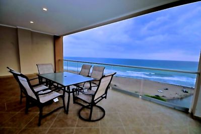 Spectacular views from every balcony