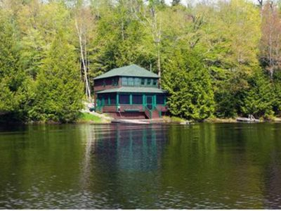 Photo for Charming Cottage Located At The Very Edge Of Upper Saranac Lake