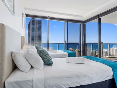 Photo for Circle on Cavill Level 41 Ocean Views 2 bedrooms 2 bathrooms