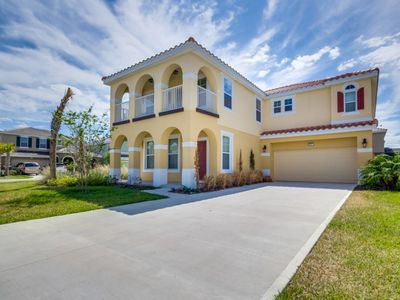Photo for Enjoy Orlando With Us - Solterra Resort - Welcome To Contemporary 6 Beds 4 Baths  Pool Villa - 7 Miles To Disney