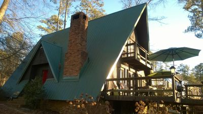 Photo for Fisher Hollow Waterfront Cabin Lake Guntersville
