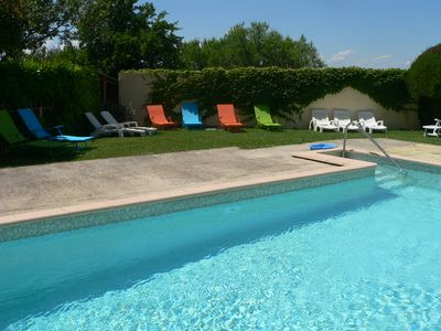 Photo for At the gates of the Luberon 2 star gite in our peaceful countryside property