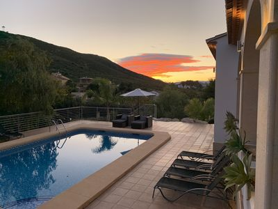 Photo for 5 * Villa with private pool and an amazing view (8 Pers)
