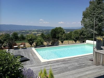 Photo for beautiful duplex of 40 m2 very well equipped, heated pool, private terrace, BBQ