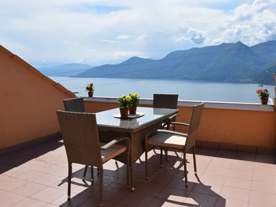Photo for CASA ELENA - A terrace on Lake Maggiore