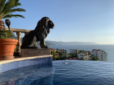 Photo for New on VRBO View Mediterranean Style Villa in Conchas Chinas 5 min from town
