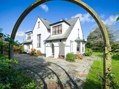 Photo for Just a stone's throw from Abersoch's main beach and amenities, this detached three-storey elegan