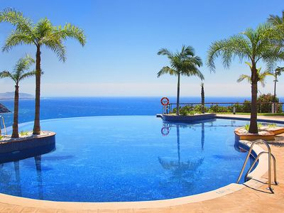 Photo for With Stunning SEA VIEWS from swimming pool - Fuentes de Almuñecar Canovas
