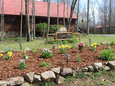 Photo for Log Cabin Vacation Rental in Jamestown, Tn