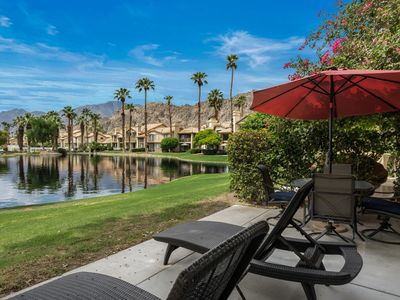 Photo for 3 Bedroom 2.5 Bathrooms At PGA WEST Mountain & Lake views w sleeper sofa in Den