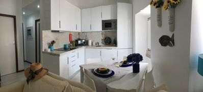 Photo for Casa do Pescador - T2 in the Center of Sesimbra 50 m from the Beach. Garage and Internet