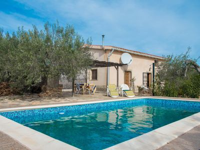 Photo for Mas de Ballaruga with pool in an environment of peace and quiet