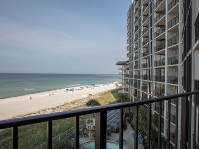 Photo for 2 Bedroom Ocean Front  Condo with Spectacular Views. EDGEWATER BEACH RESORT!