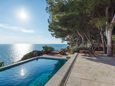 Photo for villa on the quiet luminous sea and natural surroundings