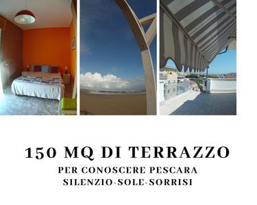 Photo for 150 square meters of terrace in the sky of Pescara