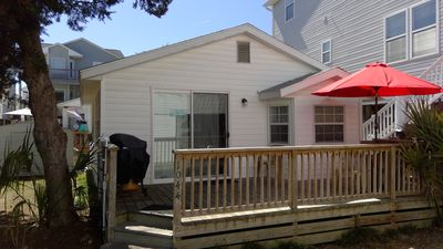 Photo for Comfortable Beach Bungalow at Site 1044 in Ocean Lakes