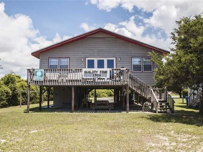 Photo for Quality Time: 4 BR / 2 BA home in Oak Island, Sleeps 10
