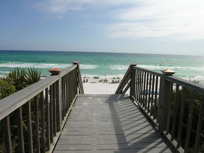 Private Beach Access Is Just A Short Walk From Sea Breeze