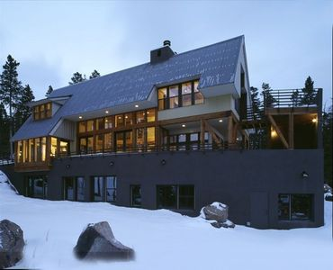 Photo for Ski-in/out at this Luxury Modern Chalet with breathtaking Wheeler Peak views!