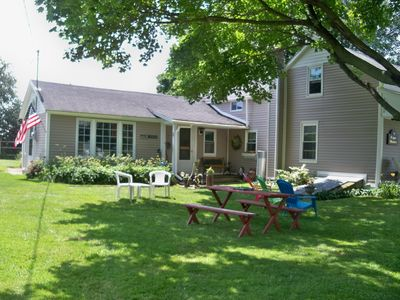 Photo for Charming Historical Summer Farm House With Private Waterfront