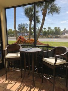 Photo for LOCATION! LOCATION! LOCATION!  Your vacation awaits you in this perfect two bedroom, two bath condo directly across from the world famous Siesta Key Beach.