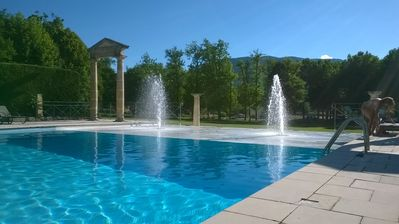 Photo for Apartment 4 / 5p in holiday residence with pool