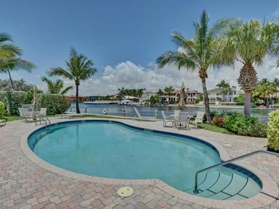 Photo for Unique, beachfront property on A1A in exclusive Hillsboro Beach, FL