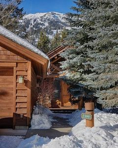 Photo for Beautiful Single-Family 2-bedroom Cabin with Hot Tub