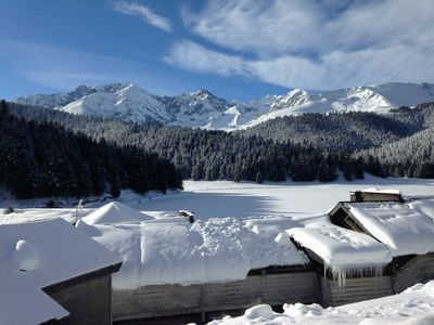 Photo for PAYOLLE mountain chalet on the edge of the Hautes-Pyrenees lake, possibe14 pers (2 gîtes)