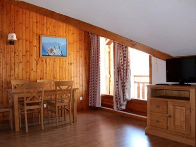 Photo for Surface area : about 32 m². 2nd floor. Orientation : North, East. Living room with pull-out sofa