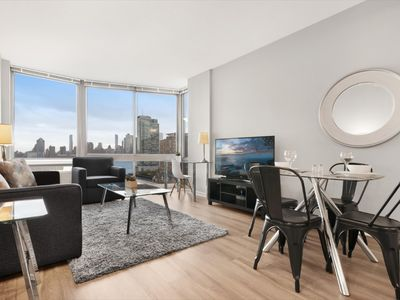 Photo for Modern 1BR | Upscale Amenities | Heart of Jersey City  | by GLS
