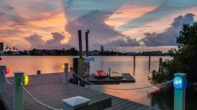 Photo for Wow!  Waterfront Mansion:  Walk To The Beach!  Amazing Sunsets!  One Of A Kind!