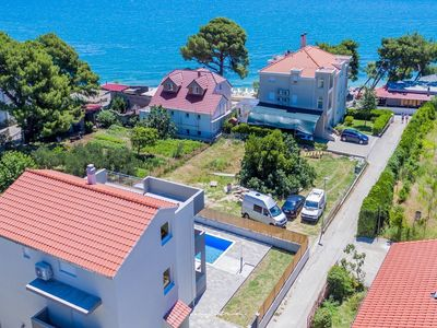 Photo for Lovely villa only 70m from the beach near Split