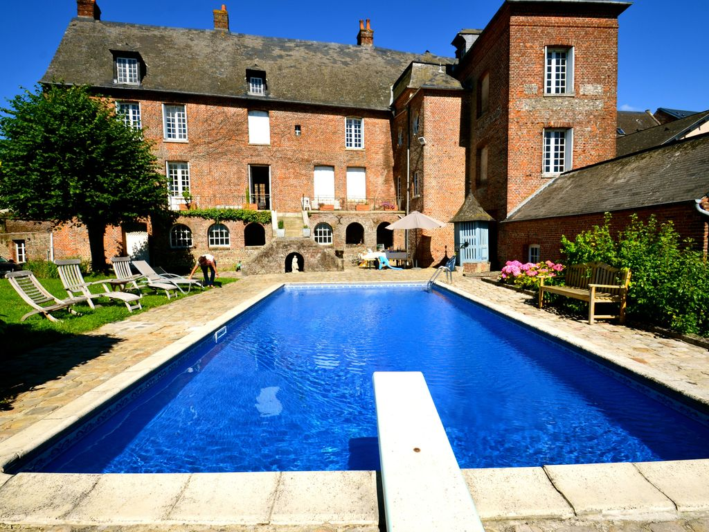 Gite In Normandy With Private And Heated Swimming Pool.