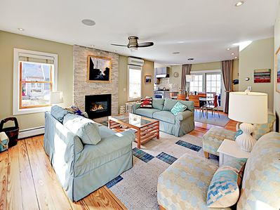 Living Room - Welcome to Provincetown! This home is professionally managed by TurnKey Vacation Rentals.