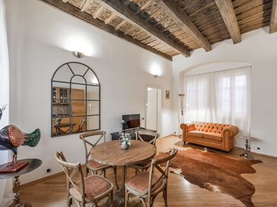 Photo for 2BEDROOM PRAGUE CASTLE APARTMENT WITH PATIO