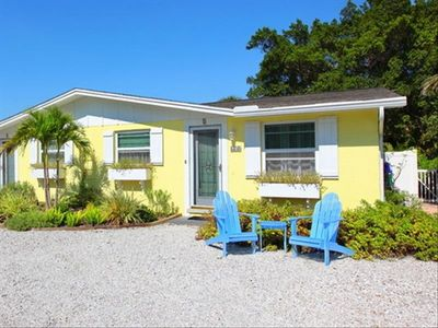 Photo for Angel Fish Cottage - Steps to Beach - Private Heated Pool-REMODELED BATHROOM!
