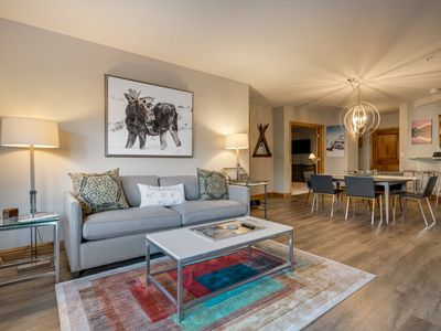 Photo for VIEWS! Modern Mountain Luxury Right on the Slopes; Ski-In/Out; Discount Lift Tix