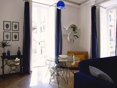 Photo for The blue house of Alberto - new luxury apartment