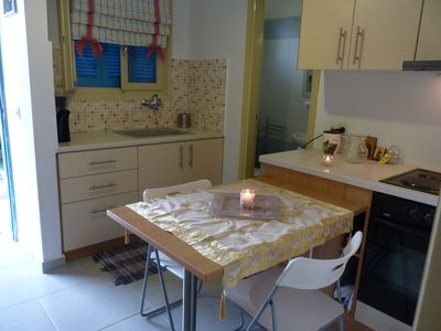 Photo for Cozy one bedroom apartment by the sea near Volos and in short distances from P