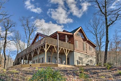 Discover peace within the natural beauty that surrounds this vacation rental.