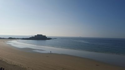 Photo for Saint-Malo, the furrow, sea view for this charming T2 ideal for 4 people, wifi