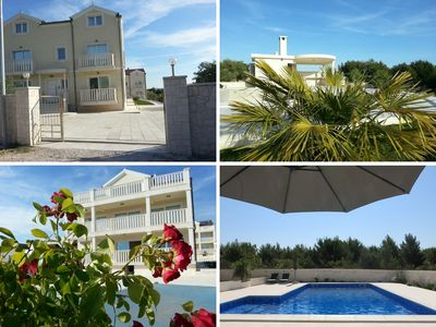 Photo for Spacious and well equipped apartment with outdoor grill and swimming pool (****)