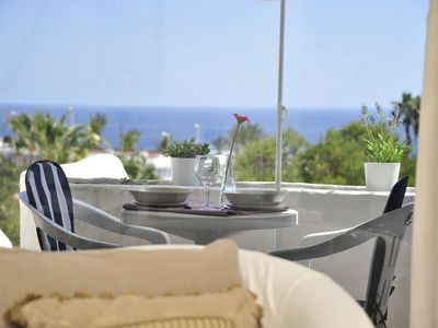 Photo for Fantastic apartment with sea view, elegant, modern , a few minutes to the beach