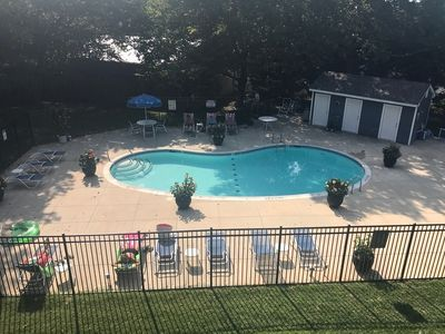Photo for Quick Walk to Rehoboth Beach Comfy 2BR Condo Sleeps 4 w/ Pool, Grilling Area, and Screened in Porch